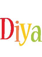 Diya birthday logo