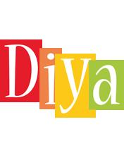 Diya colors logo