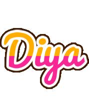 Diya smoothie logo