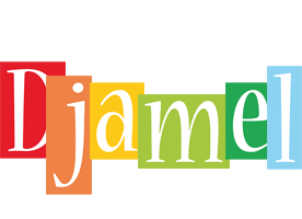 Djamel colors logo