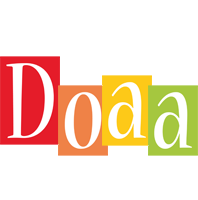 Doaa colors logo