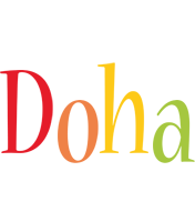 Doha birthday logo