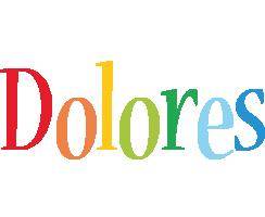 Dolores birthday logo