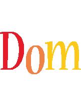 Dom birthday logo