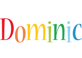 Dominic birthday logo