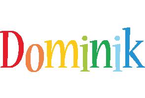 Dominik birthday logo