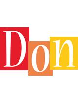 Don colors logo