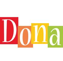 Dona colors logo