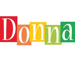 Donna colors logo