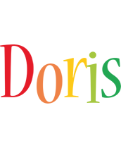 Doris birthday logo