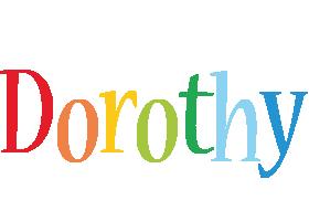 Dorothy birthday logo