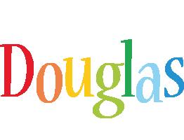 Douglas birthday logo
