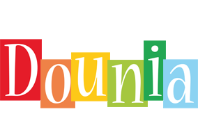 Dounia colors logo