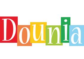 Dounia colors logo