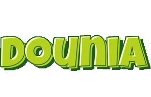 Dounia summer logo