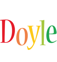 Doyle birthday logo