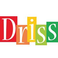 Driss colors logo