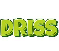 Driss summer logo