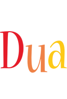Dua birthday logo