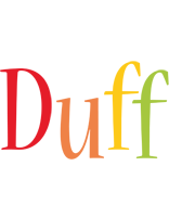 Duff birthday logo