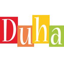 Duha colors logo