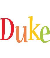 Duke birthday logo