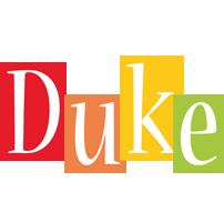 Duke colors logo
