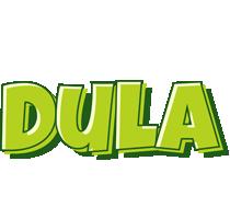Dula summer logo