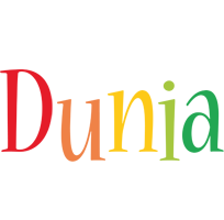 Dunia birthday logo