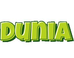 Dunia summer logo