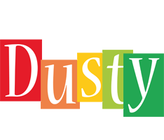 Dusty colors logo