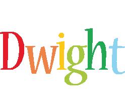Dwight birthday logo