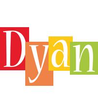 Dyan colors logo