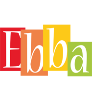 Ebba colors logo