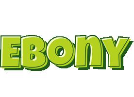 Ebony summer logo