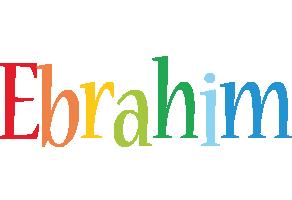 Ebrahim birthday logo
