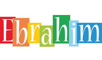 Ebrahim colors logo