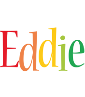 Eddie birthday logo