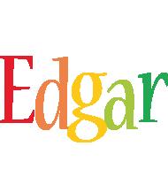 Edgar birthday logo
