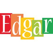 Edgar colors logo