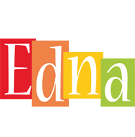 Edna colors logo