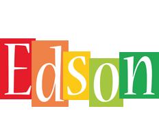 Edson colors logo