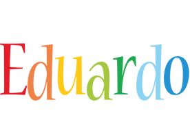 Eduardo birthday logo