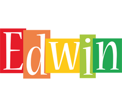 Edwin colors logo