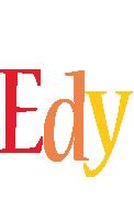 Edy birthday logo