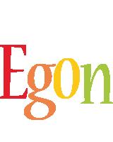 Egon birthday logo