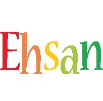 Ehsan birthday logo