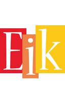 Eik colors logo