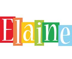 Elaine colors logo
