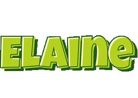 Elaine summer logo